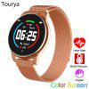 Tourya W4 Sports Smart Watch Heart Rate Bracelet Color Call Step Round Smartwatch for Men Womem