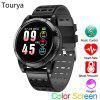 Tourya T16 Smart Watch Heart Rate Smart Bracelet Watch Color Screen Round MultiSports Band