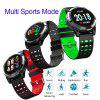 Tourya M11Smart Watch Heart Rate Bracelet Android IOS Color Call Message Sport Round Band
