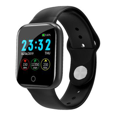 Tourya I5 Smart Sport Men Women Watch Heart Rate Bracelet Color Call SMS Music Band