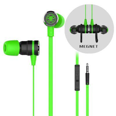 Tourya G20 In-Ear Earphone Gaming Strong Bass 3.5mm Earphones Sport HiFi Headphone For Xiaomi iPhone Samsung With Mic