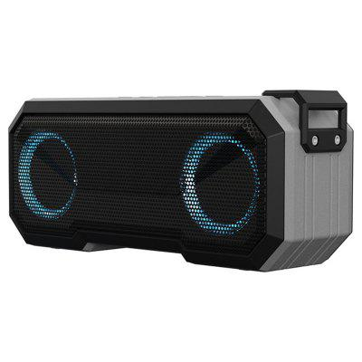 Tourya X8 Bluetooth Speaker 3000mah Column IPX7 Waterproof Subwoofer Led Lights Portable Wireless Loudspeakers Stereo for pphone