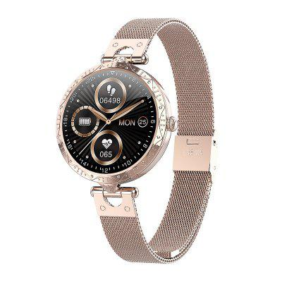 Tourya Smart Watch AK22 Touch Music Control Female Lady Girl Bracelet Heart Rate Fitness Tracker Sports Band for Xiaomi Huawei Samsung