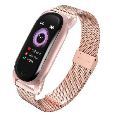 Tourya Smart Watch YH6 Women Girl Waterproof Bluetooth Heart Rate Bracelet Fitness Tracker Call Message Clock Gift Band for Huawei Xiaomi