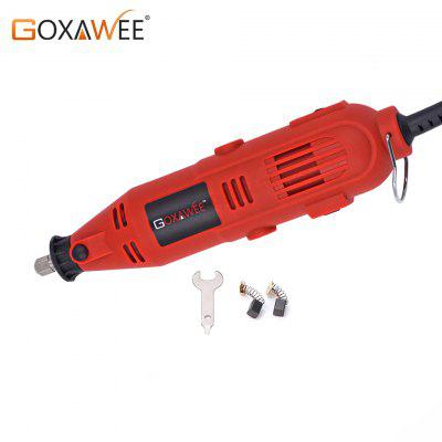 GOXAWEE Dremel Style Electric Drill Mini Engraver Grinder Polisher Power Rotary Tools Accessories