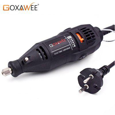 GOXAWEE 220V Power Tools Electric Mini Drill Grinder Polisher Engraver Rotary Tools kit For Dremel