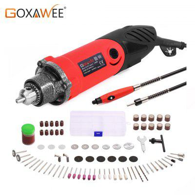 GOXAWEE Electric Drill Mini Engraver With 6 Variable Speed For Dremel Metalworking Drilling Machine