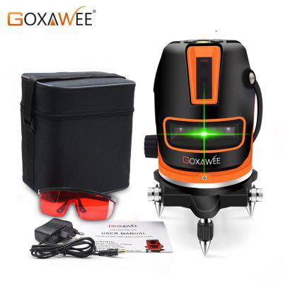 GOXAWEE Lines Laser Level 3D Self-Leveling 360 Horizontal And Vertical Cross Green Laser Beam Line
