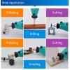 20pcs Tungsten Carbide Burs Rotary Tools Milling Cutter Dremel Tools Accessories Mini Electric Drill