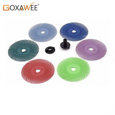 10pcs 3M Radial Bristle Brush Wheel Discs Abrasive Tools Polishing Grinding Wheel Brushes