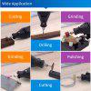 Electric Hand Drill Power Tools Wood Milling Burrs Cutter Set 6pcs with Drill Dedicated Locator