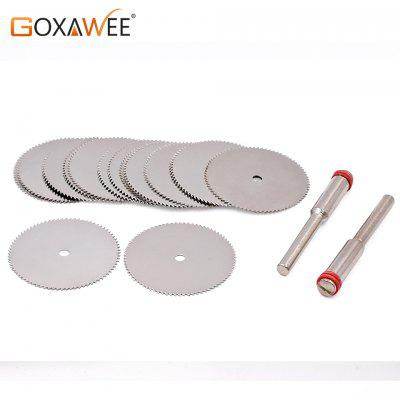 Cutting Discs Rotary Tools Cutting wheel for Dremel Tools Accessories 10pcs Discs with 2pcs Mandrels