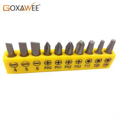 10pc Electric Alloy Steel Screwdriver Bits For Screwdriver Set Multifunctionl Versatile Screwdrivers