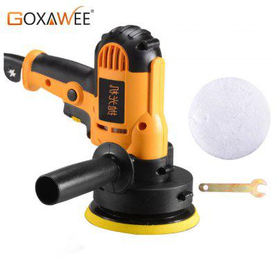 Goxawee 800W Auto Car Polisher Sanding Machine Orbit Variable Speed Waxing Polisher Power Tools