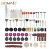 GOXAWEE Rotary Tools Abrasive For Dremel Electric Drill Metal Engraving Cutting Grinding Polishing