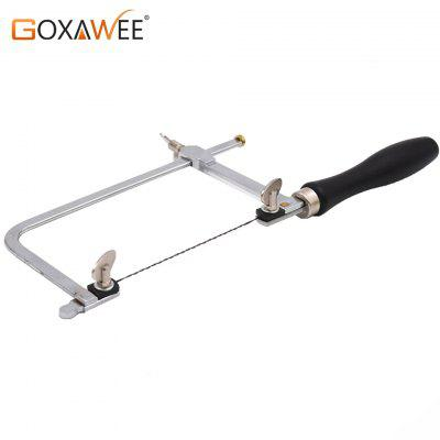 GOXAWEE Adjustable Saw Frame Sawbow Adjustable U-shape Saw Hacksaw DIY Hand Tools For Jewelry Tools