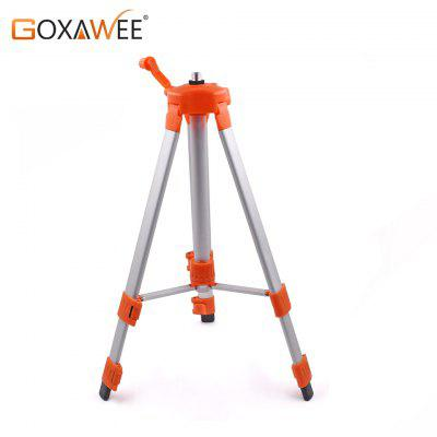 GOXAWEE 120cm Aluminium Alloy Stand Laser Level Tripod For Laser Level Adjustable Height Holder
