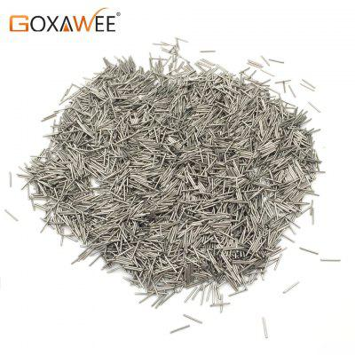 GOXAWEE 200g Magnetic Needles Pins for Magnetic Tumbler Polishing Media For Jewelry Tools Equipment