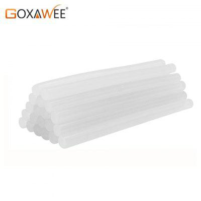 GOXAWEE 30PCS Hot Melt Glue Sticks for Electric Heat Pistol Glue with 7mm 11mm Dia DIY Repair Tools