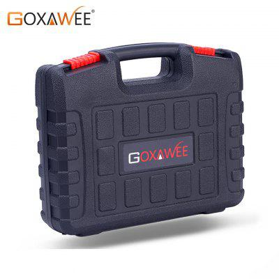 GOXAWEE Plastic Tools Carrying Storage Case Tool Box For Dremel Electric Drill Rotary Rotary Tools