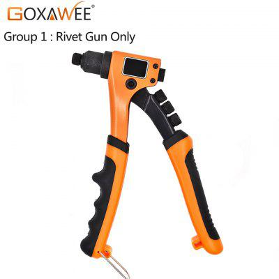 GOXAWEE 8inch 200mm Single Hand Blind Rivet Guns POP Riveters Manual Screw Riveting Riveter Tool