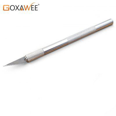GOXAWEE 9 Blades Craft Artwork Cutting Knife DIY Wood Carving Sculpture Scalpel Knife Hand Tool