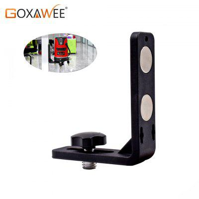 GOXAWEE Eight fifths inch Laser Level Universal L-Bracket Super Strong Iron Magnet Adsorption Stand