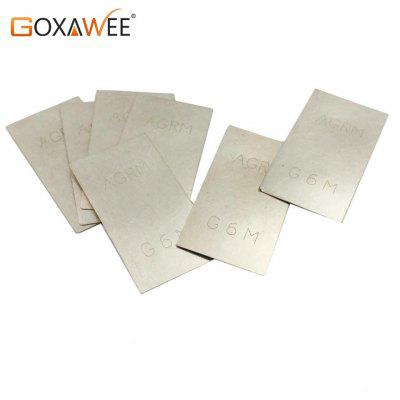 GOXAWEE Silver Welding Soldering Plate For Jewelry Welding Soldering Tools Welding Plate Welding