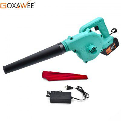 GOXAWEE 20W Electric Air Blower Vacuum Cordless Cleaner Turbine Blower Dust Blowing Dust Collector