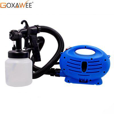 GOXAWEE 400W Electric Paint Spray Gun Airless HVLP Paint Mini Sprayer Gun For Painting Cars wall