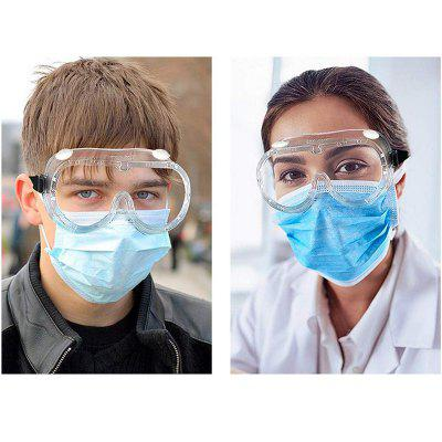 Protective Safety Glasses Work Anti Dust Eye Anti-Fog Antisand windproof Transparent Goggles