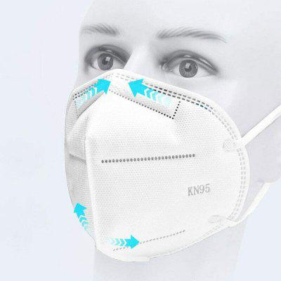 5PCS KN95 Dustproof Anti-fog And Breathable Face Masks N95 Mask  Features as KF94 FFP2