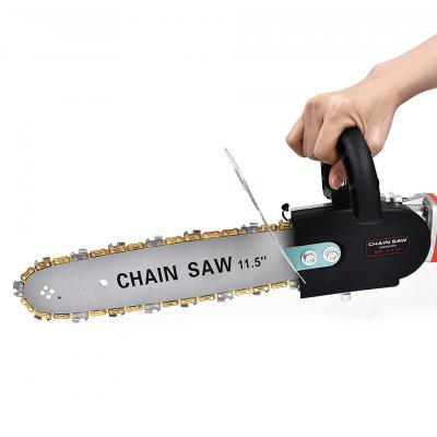 11.5 Inch Chainsaw Bracket Set High Carbon Steel Chain Saw For M10 Grinder Angle Woodworking Into