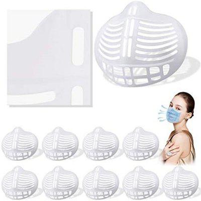 3D Silicone Face Bracket Internal Support Frame for Mask Breathable Reusable Lipstick Protector Protection