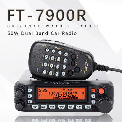 Yaesu FT-7900R Car Mobile Radio Dual Band 10KM Two Way Radio Vehicle Base Station Radio