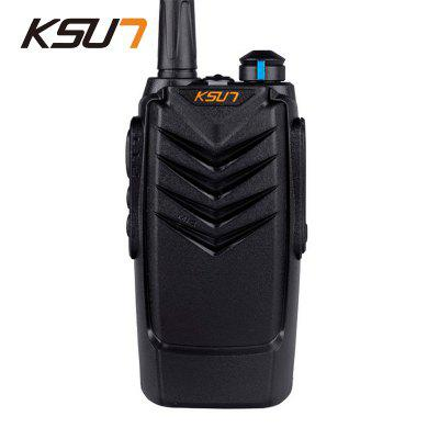 KSUN KSX30-16QH Two Way Radio Handheld Portable Radio 8W UHF 400-470MHz Ham Radio Walkie Talkie