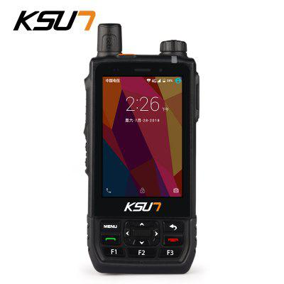 KSUN KSX-AL1 4G WCDMA CDMA GSM Visualization Intercom Positioning Walkie Talkie Mobile Phone