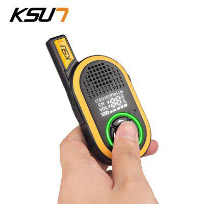 KSUN KSX30-JNB 2PCS Handheld Talkie-Walkie Radio Portable 8W Haute Puissance UHF Radio Bidirectionnelle
