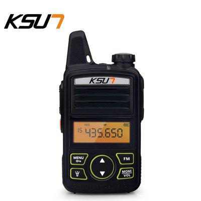 KSUN KSX30-ML Portable Radio Set ini Walkie Talkie UHF Handheld Two Way Ham Radio HF Transceiver