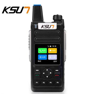 KSUN KSXQ6-ZY Mobile Phone Radio Calling WIFI Connection Intercom Walkie Talkie With Sim Card