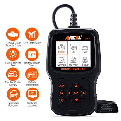 ANCEL EU510 OBD2 Scanner Diagnostic Auto Engine Code Reader