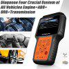 FOXWELL NT614 Car Engine ABS SRS Airbag Transmission Diagnostic Tool EPB Oil Reset OBD2 Scanner