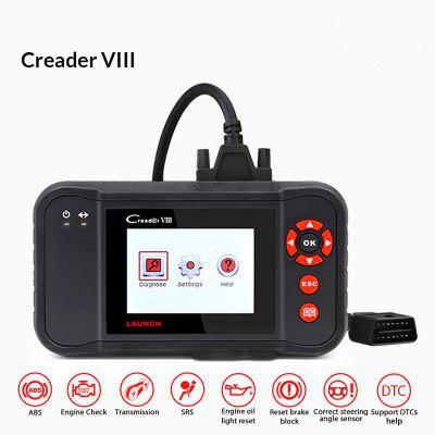LAUNCH CReader VIII Car Code Scanner For ENG ABS SRS AT Oil EPB SAS Reset