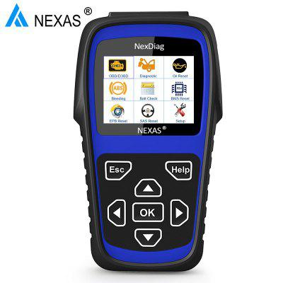 Nexas ND606 OBD2 Scanner Auto Car Diagnostic ABS Bleed Battery EPB SAS Oil Reset For CLA GLA SLK CLS
