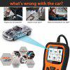Autophix OM126P OBD2 Scanner Full OBD 2 Diagnostic Tool Engine Analyzer for EOBD JOBD OBD II