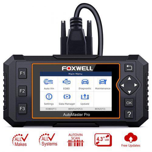 FOXWELL NT624 Elite OBD2 EOBD Automotive Scanner Full System Diagnostic Oil EPB Reset Tool