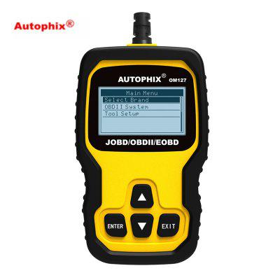 Autophix OM127 OBD2 Automotive Scanner ODB2 Diagnostic Tool OBDII EOBD JOBD Code Reader