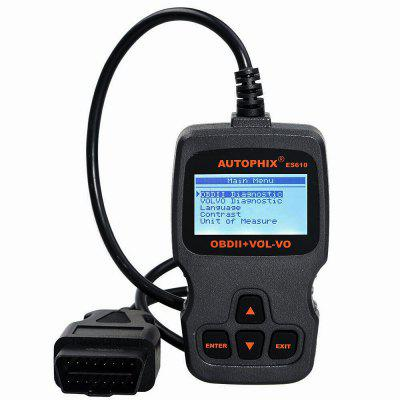 AUTOPHIX ES610 Obd2 Scanner Code Reader Auto Diagnostic Tool for Volvo Engine ABS SRS Airbag