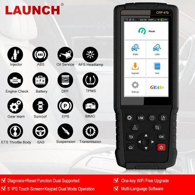 CRP479 OBD2 Auto Scan Tools 15 Reset Functions Android PAD Touch Screen Scanner