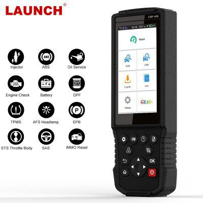 LAUNCH CRP469 Auto Code Reader Car Diagnostic Scanner with 11 Special Functions